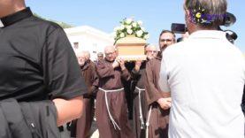 Arrivo della salma di mons. Michele Castoro a San Giovanni Rotondo