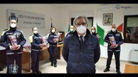 San Giovanni Rotondo Iniziativa per i piccoli pazienti della pediatria oncologica da parte della polizia locale.