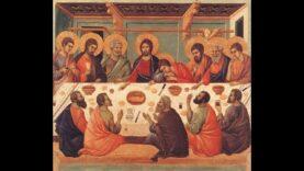 Giovedì Santo: Messa Vespertina in Coena Domini